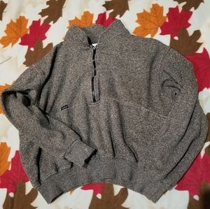 Rare find VTG oversized cropped pullover sweater